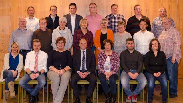 Gruppenfoto Stadtratswahl 2020